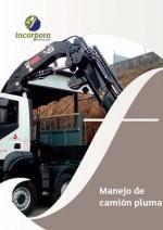 Manejo de camión pluma